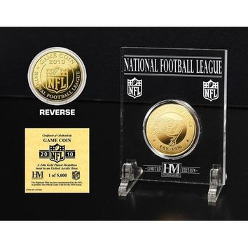 Tampa Bay Buccaneers 24KT Gold Game Coin