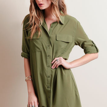 Park Slope Shirt Dress
