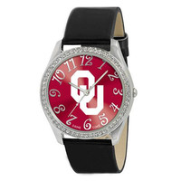 Oklahoma Sooners NCAA Ladies Glitz Series Watch