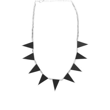 Veronica M 9 Triangle Necklace