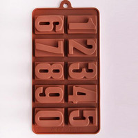 Silicone Numbers Ice & Baked Goods Mold
