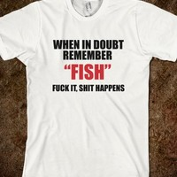 FUCK IT FISH FUNNY NEW T-SHIRT