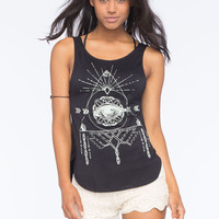 Sea Gypsies Eye Of The Storm Womens Tank Black  In Sizes