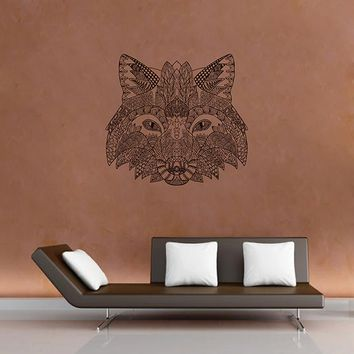 ik2948 Wall Decal Sticker animal fox living room bedroom