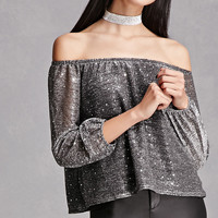 Honey Punch Sequin Top
