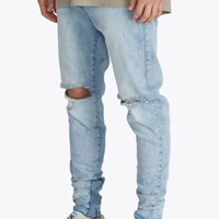 Zanerobe, Sharpshot Denimo Pants - Busted Blue Thrash - Zanerobe - MOOSE Limited