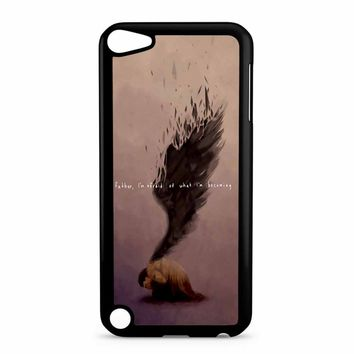 Supernatural Castiel Quote iPod Touch 5 Case