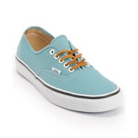 Vans Authentic Twill Porcelain Blue & True White Shoe at Zumiez : PDP