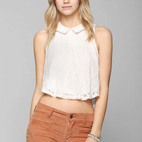Pins And Needles Lace Swing Tank Top - Urban Outfitters