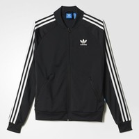 adidas Superstar Track Jacket - Black | adidas US