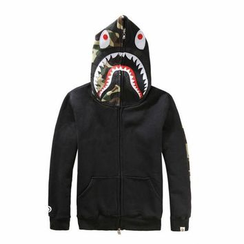 DCCKJH2 Shark Men's Fashion Hoodies Jacket