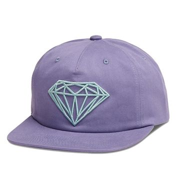 Diamond Supply Co. - Brilliant Unconstructed Snapback - Purple