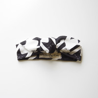 Cats-Tooth Organic Stretch Knit Head Tie For Babies
