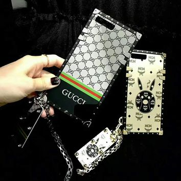 MCM/GUCCI  iPhone Phone Cover Case For iphone 6 6s 6plus 6s-plus 7 7plus H-AGG-CZDL