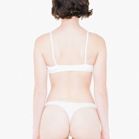 Cotton Spandex Jersey Invisi-Thong | American Apparel