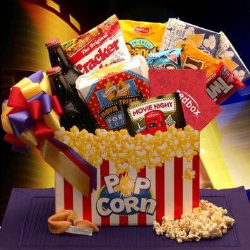 Movie Madness Snack Gift Basket (Med)