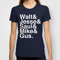 Breaking Bad T-shirt by Elanor Jarque