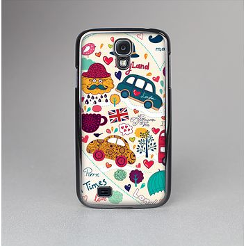 The Vector London Sketchbook Collage Skin-Sert Case for the Samsung Galaxy S4