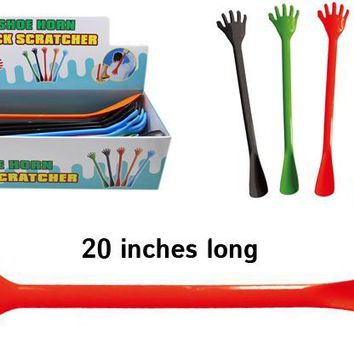 Jumbo Shoehorn Back Scratcher Case Pack 24