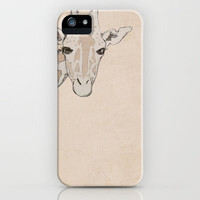 Giraffe iPhone Case by Kayla Cole | Society6