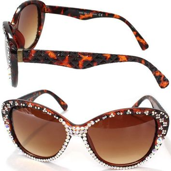 DEEDEE SWAROVSKI CRYSTAL SUNGLASSES