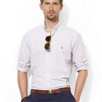 Polo Ralph Lauren Classic-Fit Tattersall Oxford Sport Shirt