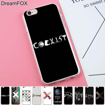 DREAMFOX K052 Coexist Tumblr Soft TPU Silicone Case Cover For Apple iPhone X XR XS Max 8 7 6 6S Plus 5 5S SE 5C 4 4S