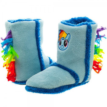MLP RAINBOW DASH BOOT SLIPPER-4PK