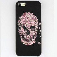 Vovotrade(TM) Hot!! Colourful Snap on Hard Case Cover Protector for Iphone 5 5s (Sugar Skull Case)