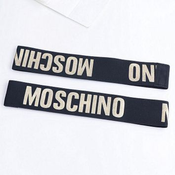 One-nice™ Moschino Sports Casual Letter Simple Hair Band Of Yoga And Fitness Headband Headband With Headbands
