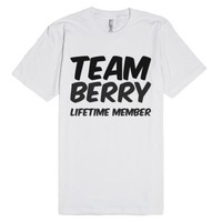Team Berry Lifetime Member T Shirt-Unisex White T-Shirt