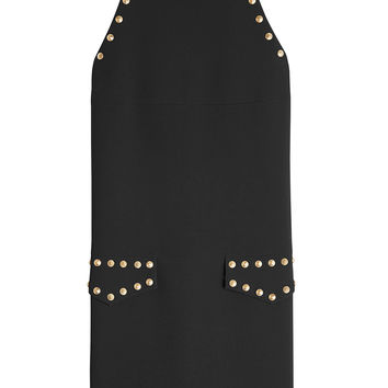 Stud Embellished Mini Dress - Moschino | WOMEN | KR STYLEBOP.COM
