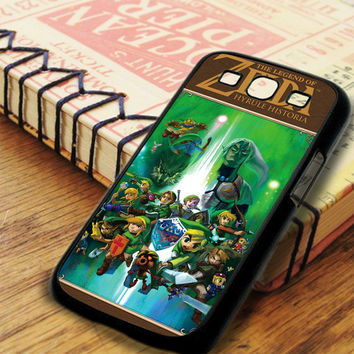 The Legend Of Zelda Hyrule Historia Book Samsung Galaxy S3 Case