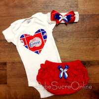 LA Clippers Outfit and Headband