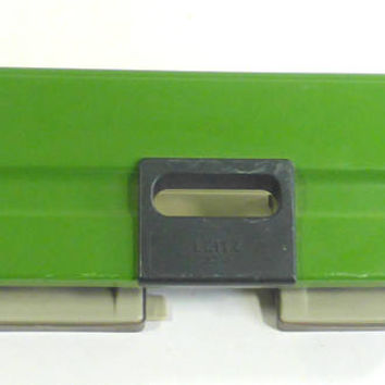 Vintage Leitz 5012 4 Hole Punch Paper Punc Green Paper Hole Puncher Retro Office Desk Decor Paper Crafting German Hole Punch