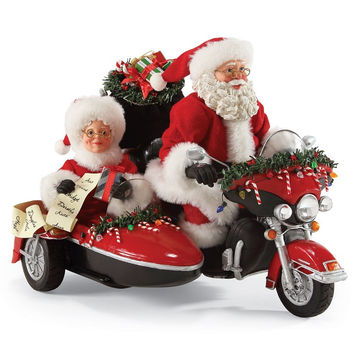 Dept 56 - Santa - Good Day for a Ride - 4051965