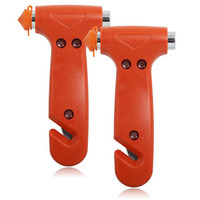 Emergency Hammer & Seatbelt Cutter (Pack of 2)
