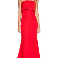 JARLO Blaze Maxi Dress in Red