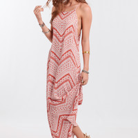 Hang Loose Printed Maxi Dress