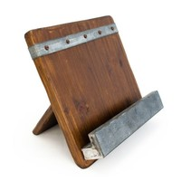 19th Century Reclaimed Wood iPad and Cookbook Holder (491562972), Eco Friendly Kitchen Products | Buy Eco Friendly Kitchen Accessories – Bowls, Utensils & More