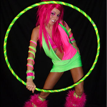 UV Watermelon Dance Costume by SparkleFide on Etsy