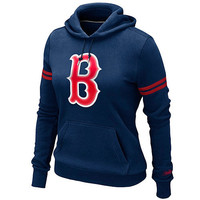 Boston Red Sox Women's Cooperstown Pullover Hoody by Nike