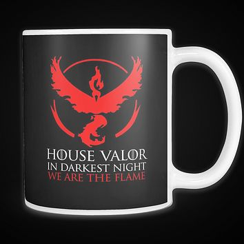 Pokemon house valor in darkness night we are the flame 11oz Coffee Mug - TL00628M1