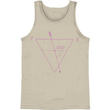 Tegan & Sara Men's  Diagram Mens Tank Grey