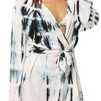 O'Neill 'Carly' Tie Dye Cover-Up | Nordstrom