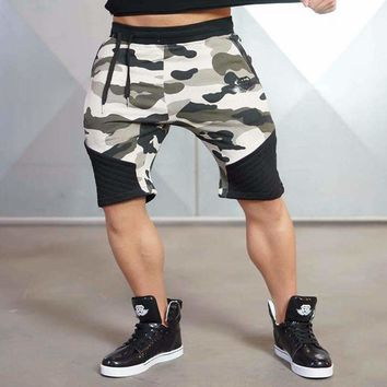 Mens Jogger Knee-Length Shorts