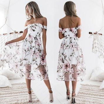ONETOW Prom Dress Dress Hot Sale Floral One Piece [224324026383]