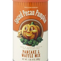Williams-Sonoma Spiced Pecan Pumpkin Pancake & Waffle Mix