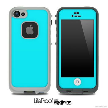 Solid Tiffany Blue Skin for the iPhone 5 or 4/4s LifeProof Case