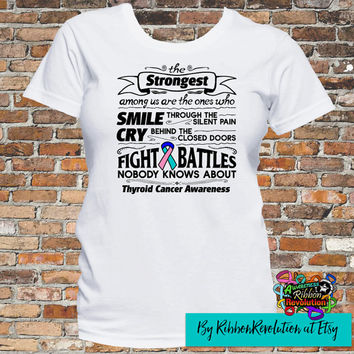 Thyroid Cancer Strongest Among Us T-Shirt
